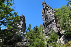 Czech Republic - Teplické Skály (Bogdan J.S.) Tags: europa europe czechy czechrepuplic skały rocks landscape krajobraz teplickéskály natura nature przyroda niebo sky