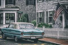 #old #car #vintage  #capecod #provincetown #Ptown #massachusetts (lelobnu) Tags: old car vintage capecod provincetown ptown massachusetts