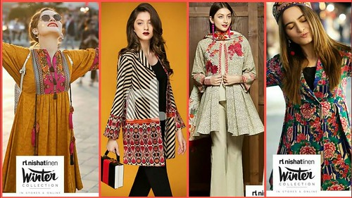 c37912c23199 Latest Full Sleeves Kurti  Kurta Designs For Girls - Winter ...