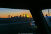 Sunset Over Downtown Manhattan (jomak14) Tags: iphone6plus fromwhereisit sunset downtownmanhattan drivingoni495 newyork nyc