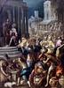 IMG_3745 Vicentino (Andrea Michieli) 1544-1619. Venise Transport de l'Arche au temple de Jérusalem.  Transport of the Ark to the Temple of Jerusalem. Vers 1608 Nantes Musée d'Arts