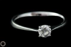 precious stone -  shone (NadzNidzPhotography) Tags: nadznidzphotography macromondays stonerhymingzone diamond jewels gemstone ring diamondring blackbackground