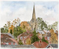 St Stephen's Church, Acomb, York colour