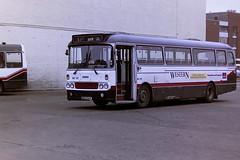 WESTERN SCOTTISH AL651 GCS51V (bobbyblack51) Tags: western scottish al651 gcs51v leyland leopard alexander y type westernsmt l51 ayr bus station 1994