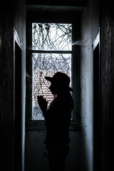 Come. (AloysiaVanTodd) Tags: urban explore explorer urbex natural light home house abandoned creepy dark darkness dismal window decay shadows sombre soul sensitivity shades clairobscur clairobscure
