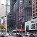 Wonder Woman Billboard Scaffolding 2017 NYC 6798