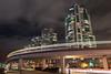 Skytrain at Quebec Street (luke.me.up) Tags: nikon d850 vancouver night nightphotography falsecreek