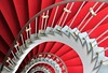 red rose (Fotoristin - blick.kontakt) Tags: stairs staircase spiral architecture abstract lines curves redrose fotoristin
