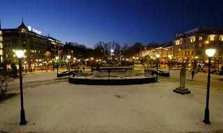 Winter celebration in Oslo