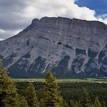 A Profile Glance Across to Mount Rundle thumbnail