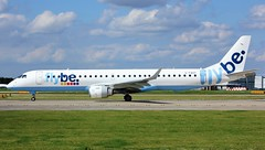 G-FBEF (AnDyMHoLdEn) Tags: flybe embraer egcc airport manchester manchesterairport 23l