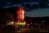 Cricket Theatre (Brad Lackey) Tags: crickettheatre collinsville alabama vintage retro neon sign restored restoration historic mainstreet smalltown street theater sunset nikon35mmf18 d7200