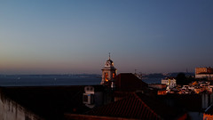 window view - notes from Lisbon (ignacy50.pl) Tags: cityscape cityview morning sunrise lisbon portugal sun river church sky landscape travel journe reportage