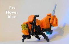 F33 hover bike (pavelkhrustal) Tags: scifi lego hoverbike dirtbike