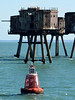 North Redsand Towers Buoy and Thames forts (johntmyers51) Tags: maunsell forts thames estuary ww2 antiaircraft towers marine disused derelict