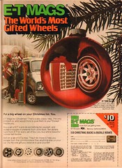 1977 ET Mags Christmas Advertisement Playboy December 1977