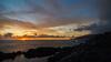 Tacoron sunset (Migge88) Tags: sonne sun sony 6500 alpha sunset sonnenuntergang steine stone meer sea wolken clouds himmel haven gelb yellow blue blau wasser water 11mm kanaren canaries elhierro