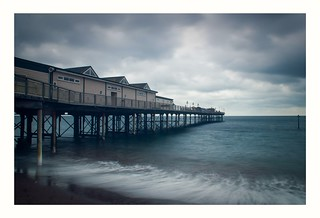 Teignmouth Grand Pier in Colour