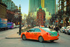(A Great Capture) Tags: downtown car toronto cab beck taxi gooderham flatiron