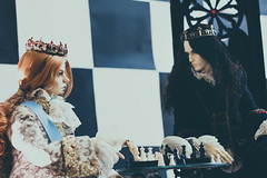 White King - Black King (6) (toriasoll) Tags: bjd abjd doll dolls dollphoto dollphotography chess blackwhite king kings dollzone raymond demiurgedolls renault demiurge demiurgerenault