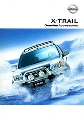2003 Nissan X-Trail ST Ti Genuine Accessories Australian Brochure Page 1 (Darren Marlow) Tags: 2 3 20 03 2003 n nissan x t xtrail s st ti 4 w d 4wd wagon c car cool collectible collectors classic a automobile v vehicle j jap japan japanese asian asia 00s
