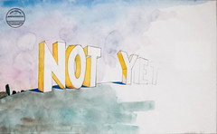 Not Yet, 1965 (Jonathan Lurie) Tags: art institute chicago saul steinberg modern 1965 museums between lines museum drawing painting aic artinstitutechicago artinstituteofchicago artinstitute artmuseum artinmuseums betweenthelines modernart saulsteinberg illinois unitedstates us