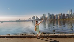 Today is going to be amazing (yuanxizhou) Tags: amazing girl lady westcoast britishcolumbia beautiful vancouver light landscape rock river bay sea portrait park water skyline sky city