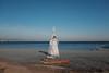 wanderlust (mdsmdsmds) Tags: doubleexposure barceloneta playa beach yoga