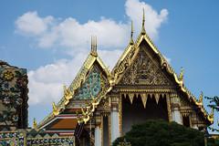 Rooflines at Wat Pho