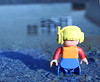 Lego (Letixue) Tags: lego freetime canada mirrow water ruleofthethirds