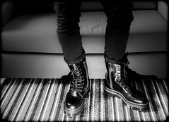 Dr Marten Jadon. (CWhatPhotos) Tags: stripped carpet photographs photograph pics pictures pic picture image images foto fotos photography artistic cwhatphotos that have which contain olympus omd four thrds 43 camera docs doc marten martens dm dms boots jardon high sole platform black key view airwair cushioned light