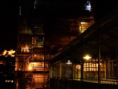the secret mechanism (*F~) Tags: lisboa lisbon portugal ascending ascent elevator iron architecture light night work workers ironarchitecture raoulmesniersduponsard