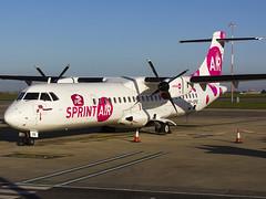 Sprint Air | ATR-72-202 | SP-SPE (MTV Aviation Photography) Tags: sprint air atr72202 spspe sprintair norwichairport norwich nwi egsh canon 550d canon550d