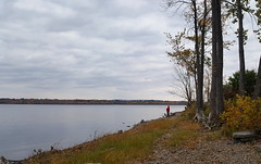 just fishing (thomas.erskine) Tags: 20171023171536teelev 2017 oct fall ottawa river fishing