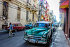 Cuban Cars (Alison Claire~) Tags: oldhavana cuba cuban viejo habana sky car automobile latin america central latino street cubana green people wall architecture canon canoneos canoneos600d eos eos600d rebel rebelt3i rebelt31 travel travelling traveling