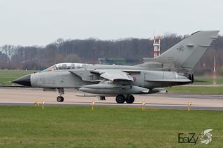 MM7030 (6-73) Italian Air Force (Aeronautica Militare) Panavia Tornado ECR