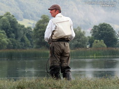 Reading the lake (crnabambula) Tags: mixmaster ivanrandjelovic lake plav montenegro flyfishing