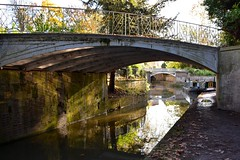 Sydney Gardens, Bath (Nige H (Thanks for 11m views)) Tags: nature landscape canal kennetavoncanal bath sydenygardens barge reflection water bridges england autumn