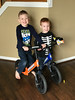 1171 (StriderBikes) Tags: 12 2017 blue boy brother cheese environment indoor october orange photocontestentry siblings smile sport