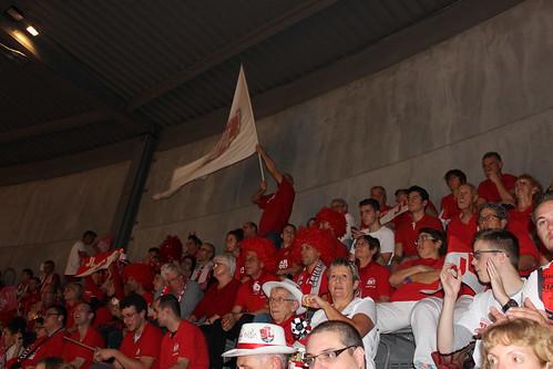 Supporters à Chalon