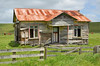 Abandoned farm house (bevanwalker) Tags: old abandoned ironroof farmhouse cows pasture sky rusty