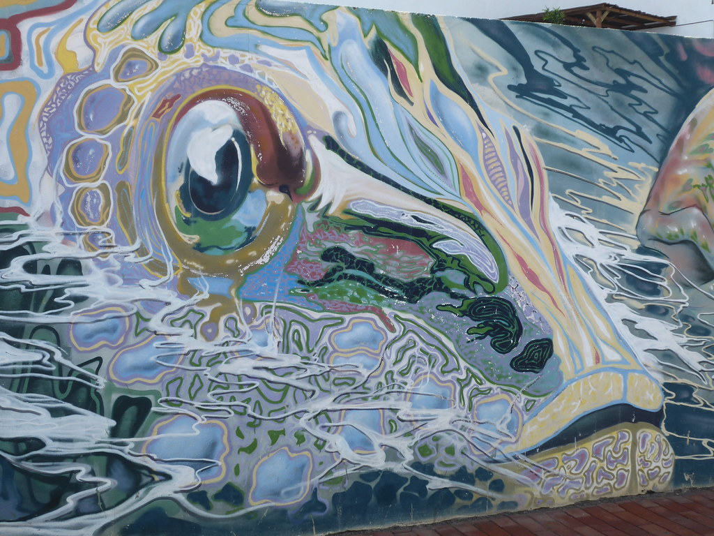 Graffiti tag grande canaria 19 hube marc tags