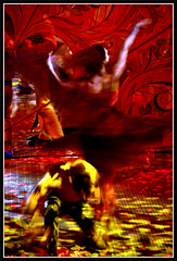 Dance (VegasBnR) Tags: nikon sigma strip vegas vegasbnr love city dance colorful gimp red yellow
