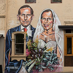 Tony Abbott marriage mural thumbnail