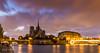 La Seine by night (Bouhsina Photography) Tags: paris france 2017 lumière longue exposition canon 5diii bouhsina bouhsinaphotography seine notre dame cathedrale quai iledefrance blue time