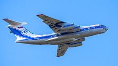 Il76 at Doncaster airport (lee adcock) Tags: dsa il76 ilyushin ra76951 tamron150600 airplane nikond7200 volgadnepr