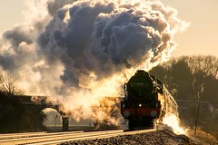 Exhausting work (odell_rd) Tags: steam 46100 royalscot sharnbrook uksteam coth5