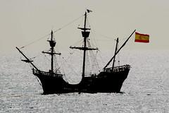 Caraque Nao Victoria entrant à Sète (guy dhotel) Tags: caravelle boats