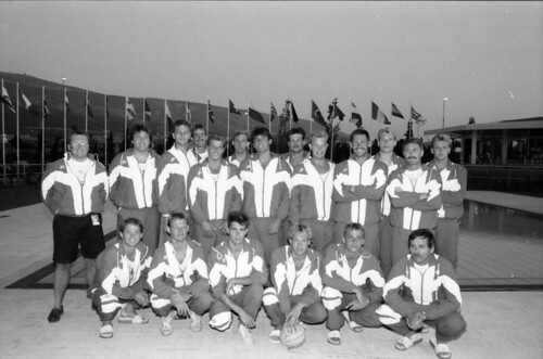 118 Waterpolo EM 1991 Athens