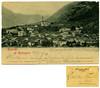 Ricordo di Roncegno, G.B. Unterveger, Trento, 1907 (Ecomuseo Valsugana | Croxarie) Tags: roncegno roncegnoterme cartolina 1907